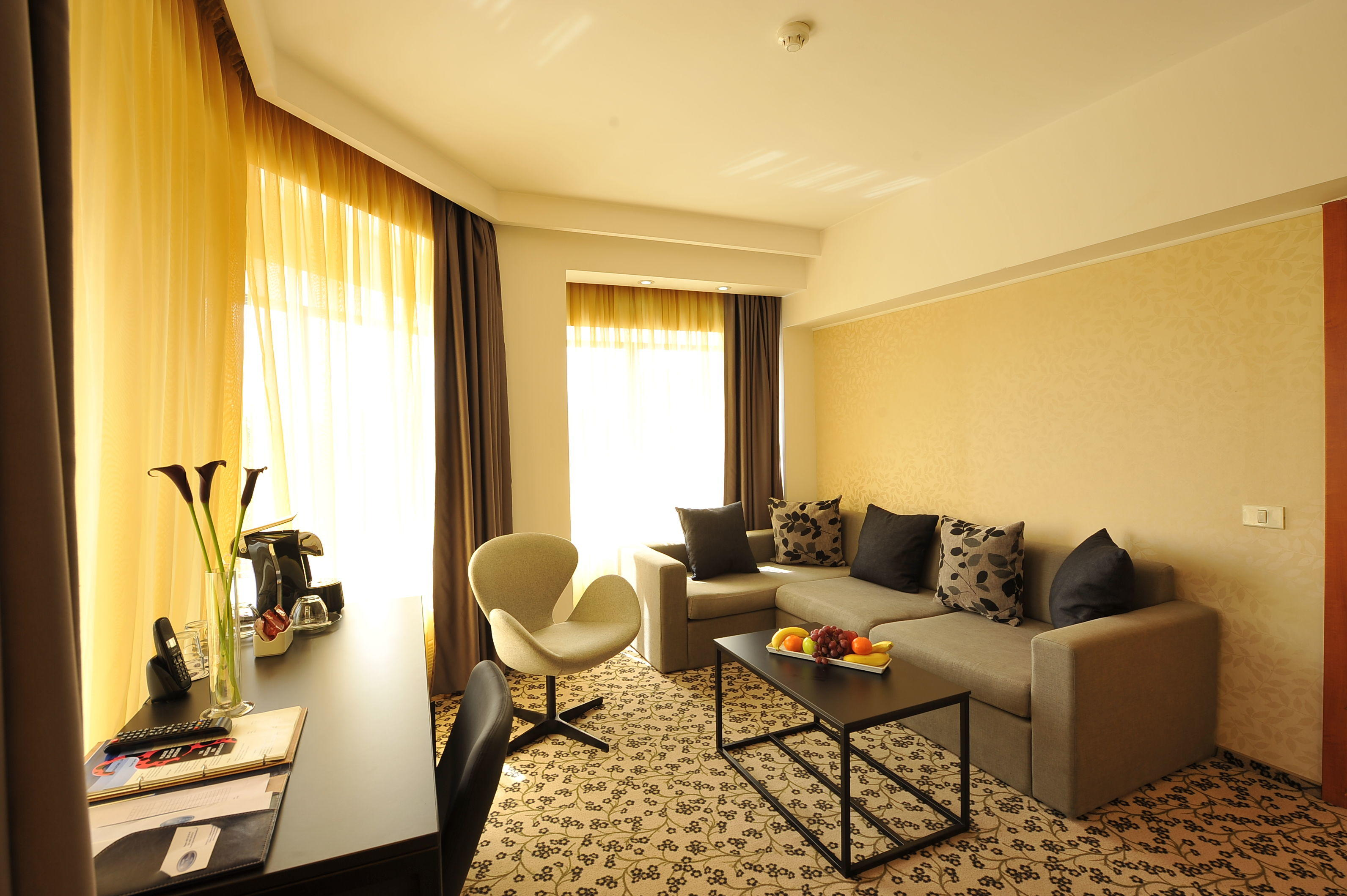 Guest Rooms - Crystal Palace Hotel